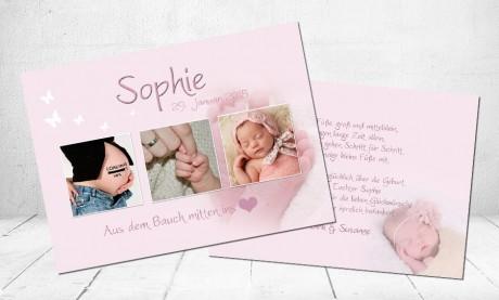 "Geburtskarten Baby ""Loading"""