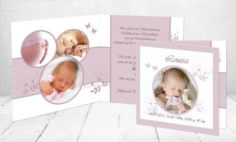 "Geburtskarten Baby ""Mamas Liebling"""