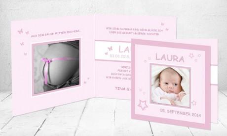 """Baby Dankeskarten """"Einzigartig"""""""