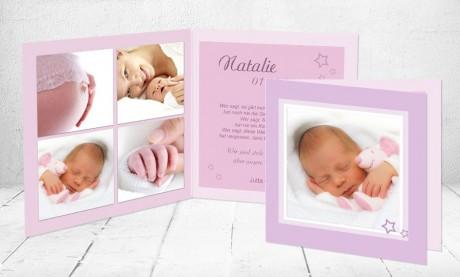 "Geburtskarten Baby ""Nesthäckchen"""