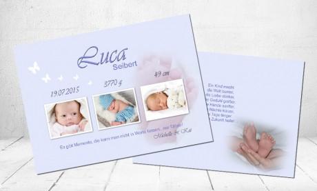 """Geburtskarten Baby """"Sonnenschein"""""""