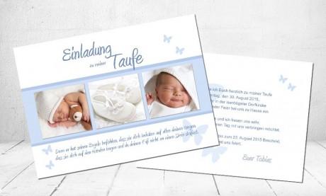 """Einladung Taufe """"Sternchen"""""""