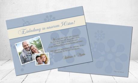 """Einladungskarten Geburtstag """"Wiegenfest"""""""