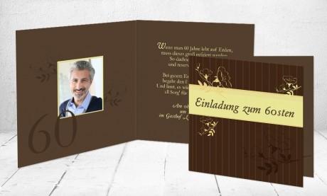 """Einladungskarte runder Geburtstag """"Jahrestag"""""""
