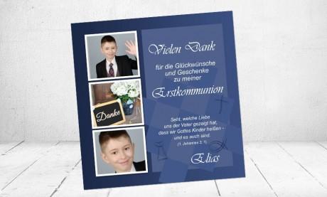 """Danksagungskarten zur Kommunion """"Gottes Kinder"""""""