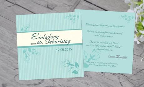 """Einladungskarten Geburtstag """"Mein Tag"""""""