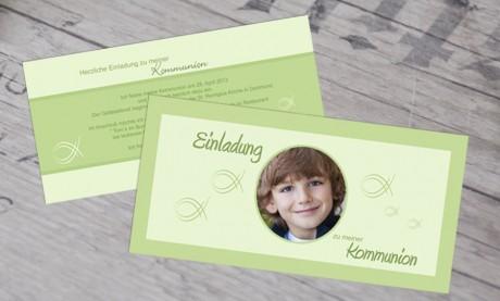 """Kommunionseinladungen """"Mein Held"""""""