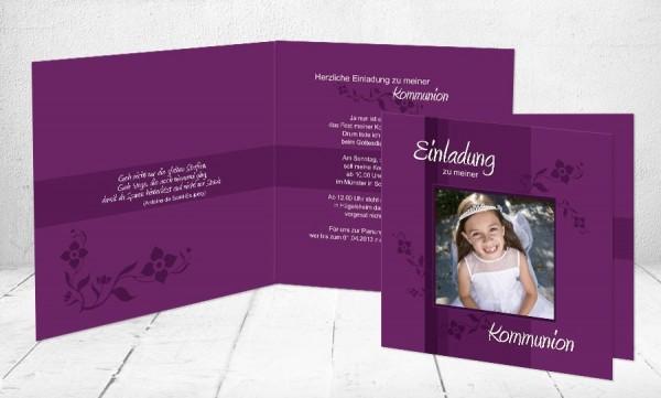 Kommunionkarten Einladung Engel Kartenveredelung Premium Kartenpapier 400 Gm² Gratis Briefumschläge Gratis Format Quadrat 125 X 125 Cm Gratis