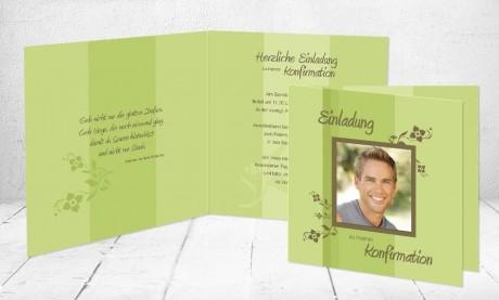 """Kommunionkarten Einladung """"Engel"""""""