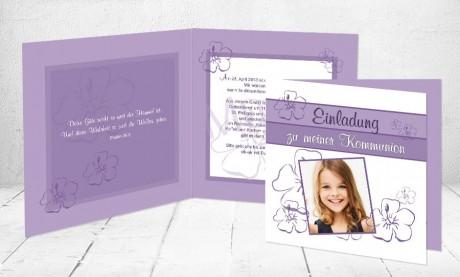 "Kommunionkarten Einladung ""Lieblingsmensch"""