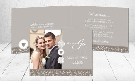 """Hochzeitseinladungen Karten """"Romanze"""""""