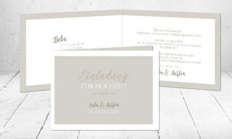 """Hochzeitseinladungen Karten """"Liebesbotschaft"""""""