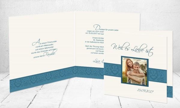 """Einladungskarten Hochzeit """"Liebesgeflüster"""""""