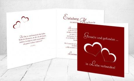 """Einladungskarten Hochzeit """"Kunstwerk der Liebe"""""""