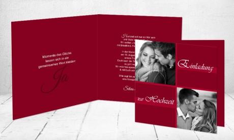 """Einladungskarten Hochzeit """"Traumpaar"""""""