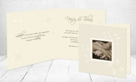 """Einladungskarten Hochzeit """"Traufe"""""""