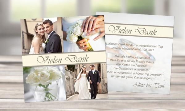 """Danksagungskarten Hochzeit """"Himmelszelt"""""""
