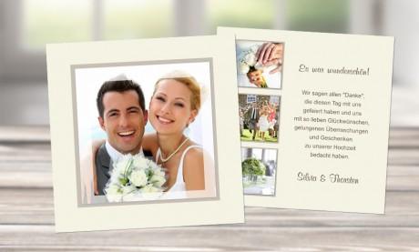 """Danksagungskarten Hochzeit """"Pures Vergnügen"""""""
