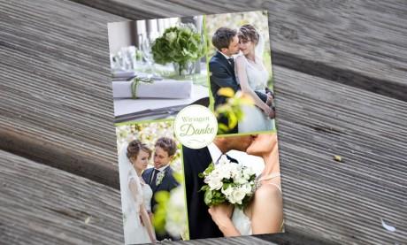"Danksagungskarten Hochzeit ""Maritim"""