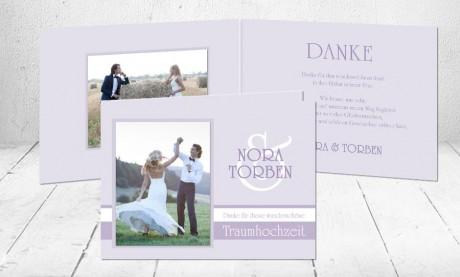 """Dankeskarten Hochzeit """"Traumhochzeit"""""""