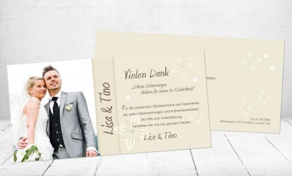 Danksagungskarten Hochzeit Schone Erinnerungen Mit Gratis