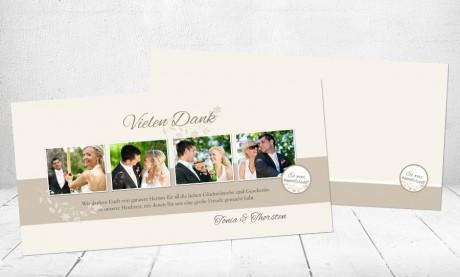 "Danksagungskarten Hochzeit ""Perfekter Tag"""