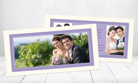 """Danksagungskarten Hochzeit """"Einfach perfekt"""""""