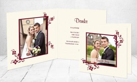 """Dankeskarten Hochzeit """"Kirchenläuten"""""""