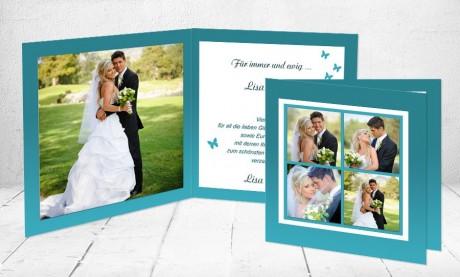 "Dankeskarten Hochzeit ""Love"""