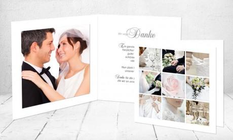 """Dankeskarten Hochzeit """"Hochzeitsspitze"""""""