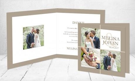 "Dankeskarten Hochzeit ""Herzensangelegenheit"""