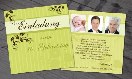 """Einladungskarten Geburtstag """"Guter Jahrgang"""""""