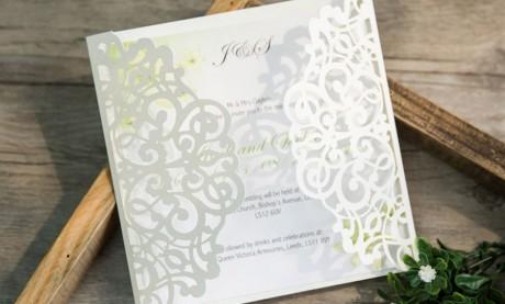 """Edle Hochzeitseinladungen  """"Traumspitze"""""""