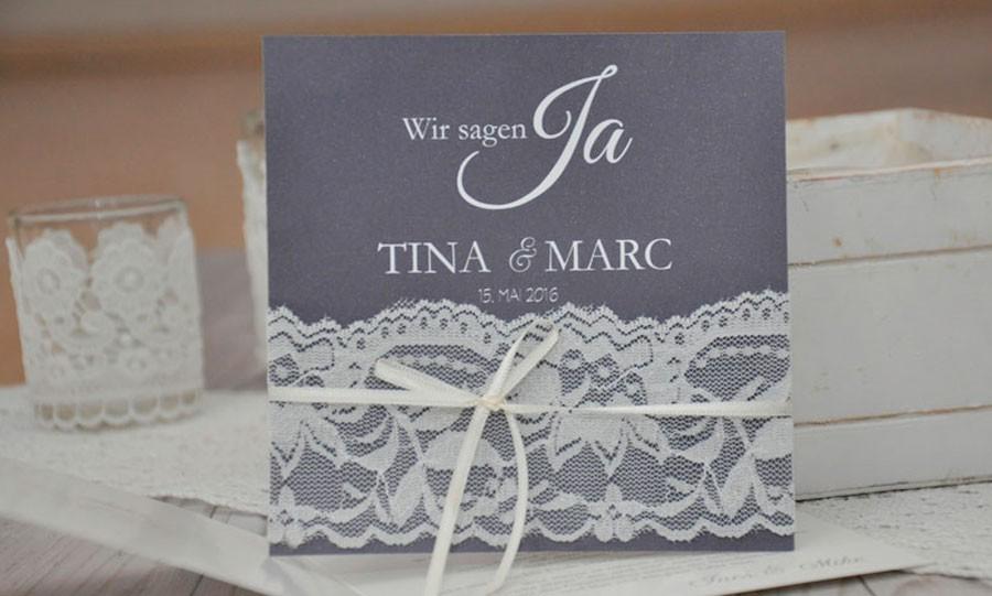 Hochzeitseinladungen spitze edles strumpfband - Hochzeitseinladungen mit spitze ...
