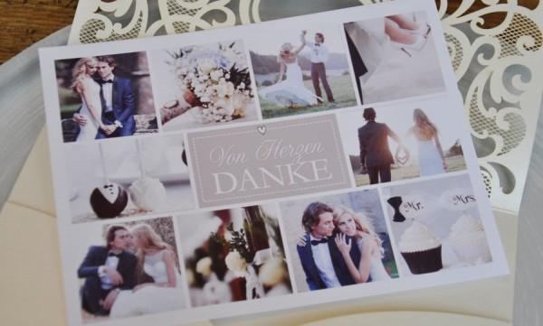 Dankeskarte Hochzeit - Mein Liebling