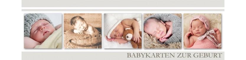 Baby Dankeskarten