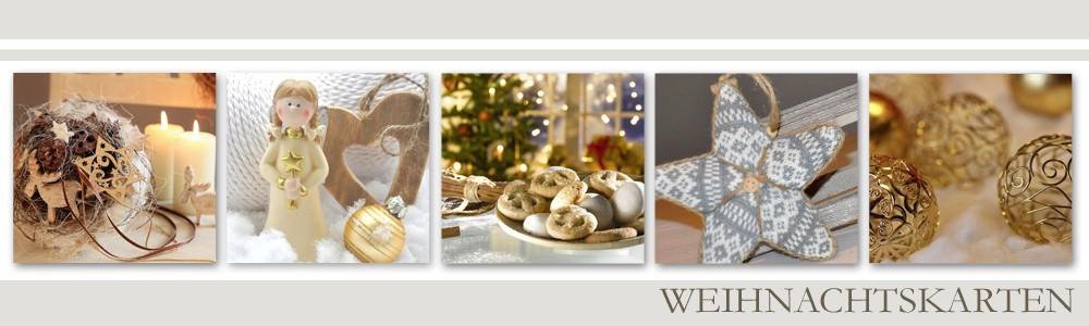 Weihnachtskarten mit Gestaltungsservice